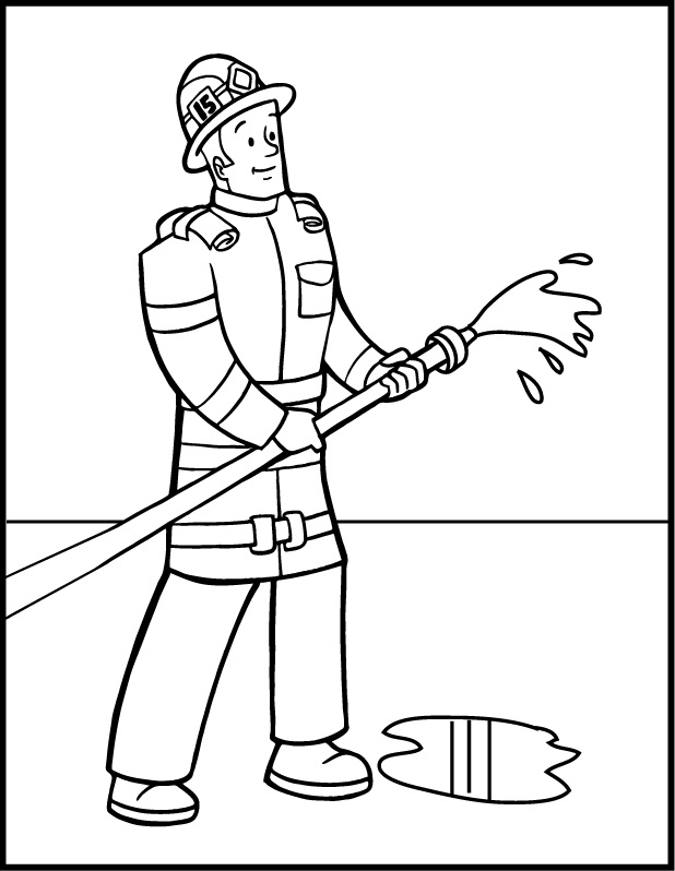 fireman coloring pages firefighter coloring pages to download and print for free fireman coloring pages