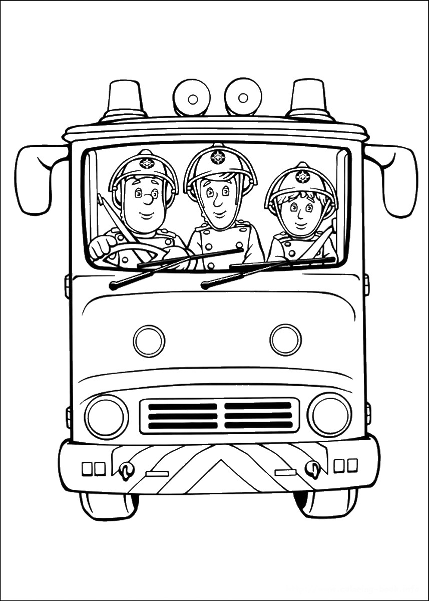 fireman coloring pages fireman sam coloring pages to download and print for free fireman coloring pages