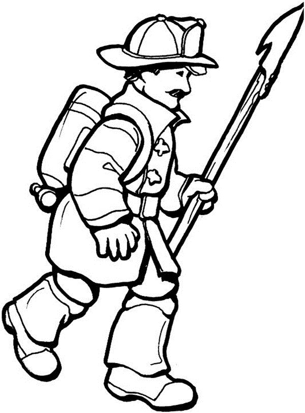 fireman coloring pages free printable firefighter coloring pages for kids pages fireman coloring