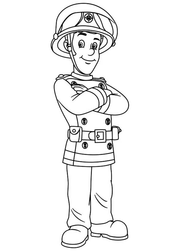 fireman coloring pages picture of fireman sam coloring page coloring sky pages fireman coloring