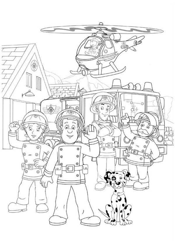 Fireman sam pictures to print free