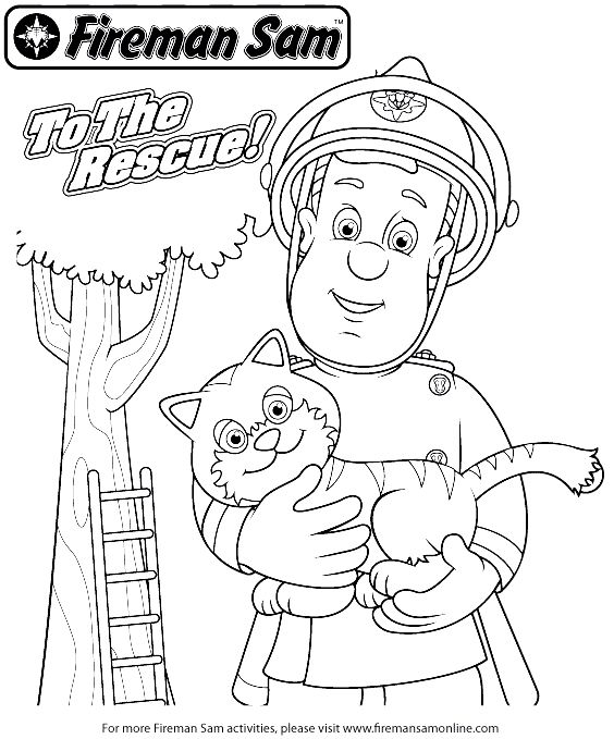 fireman sam pictures to print free fireman coloring book coloring home sam print pictures fireman to free