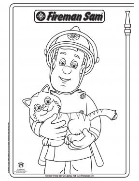 fireman sam pictures to print free fireman sam and lion fireman sam coloring pages pbs free sam fireman to pictures print