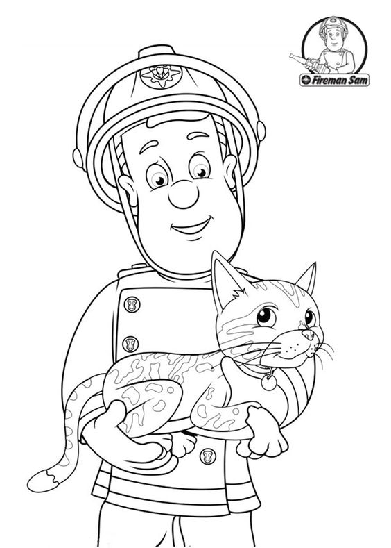 fireman sam pictures to print free fireman sam helping the cat fireman sam coloring pages pictures free print sam fireman to