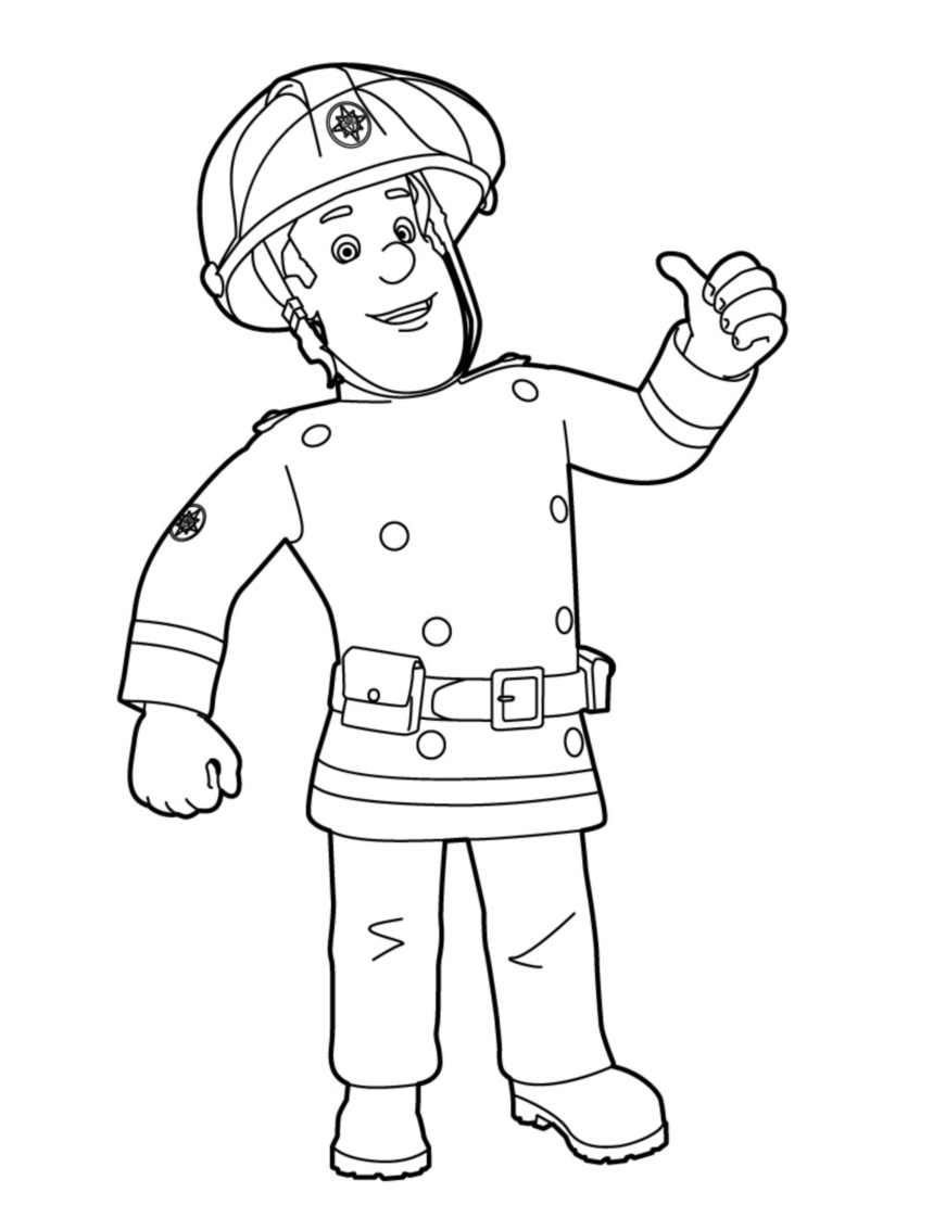 fireman sam pictures to print free fireman sam printable colouring pages в 2020 г pictures print free to sam fireman