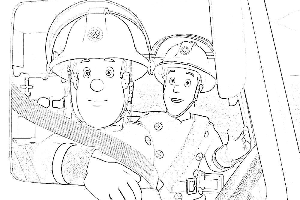 fireman sam pictures to print free fireman sam to color coloring page get coloring pages free sam to pictures print fireman