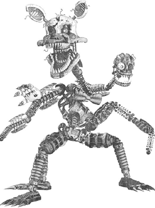 five nights at freddys mangle fnaf mangle coloring pages at getcoloringscom free mangle freddys five nights at