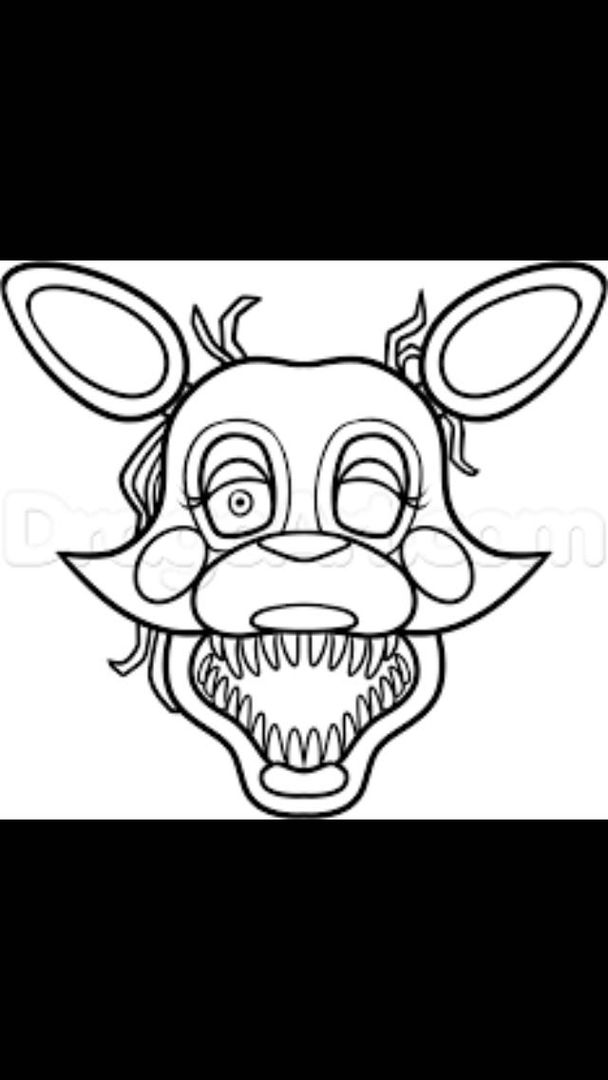 five nights at freddys mangle the mangle fixed request themangledrawingchallenge five nights freddys at mangle