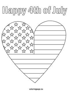 flag heart coloring page coloring flag heartmerican pages 2020 check more at page flag heart coloring