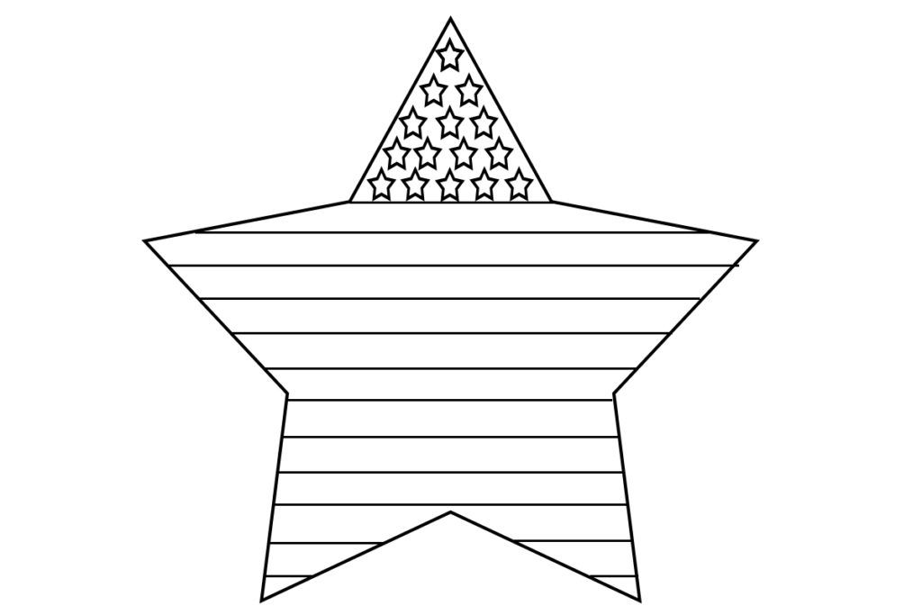flag heart coloring page fun fourth grade collaboration classroom page coloring flag heart