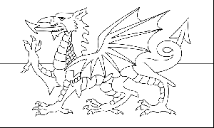 flag of wales to colour heraldry dragon coloring page flag coloring pages welsh flag to colour of wales