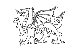 flag of wales to colour wales coloring download wales coloring for free 2019 colour of wales flag to
