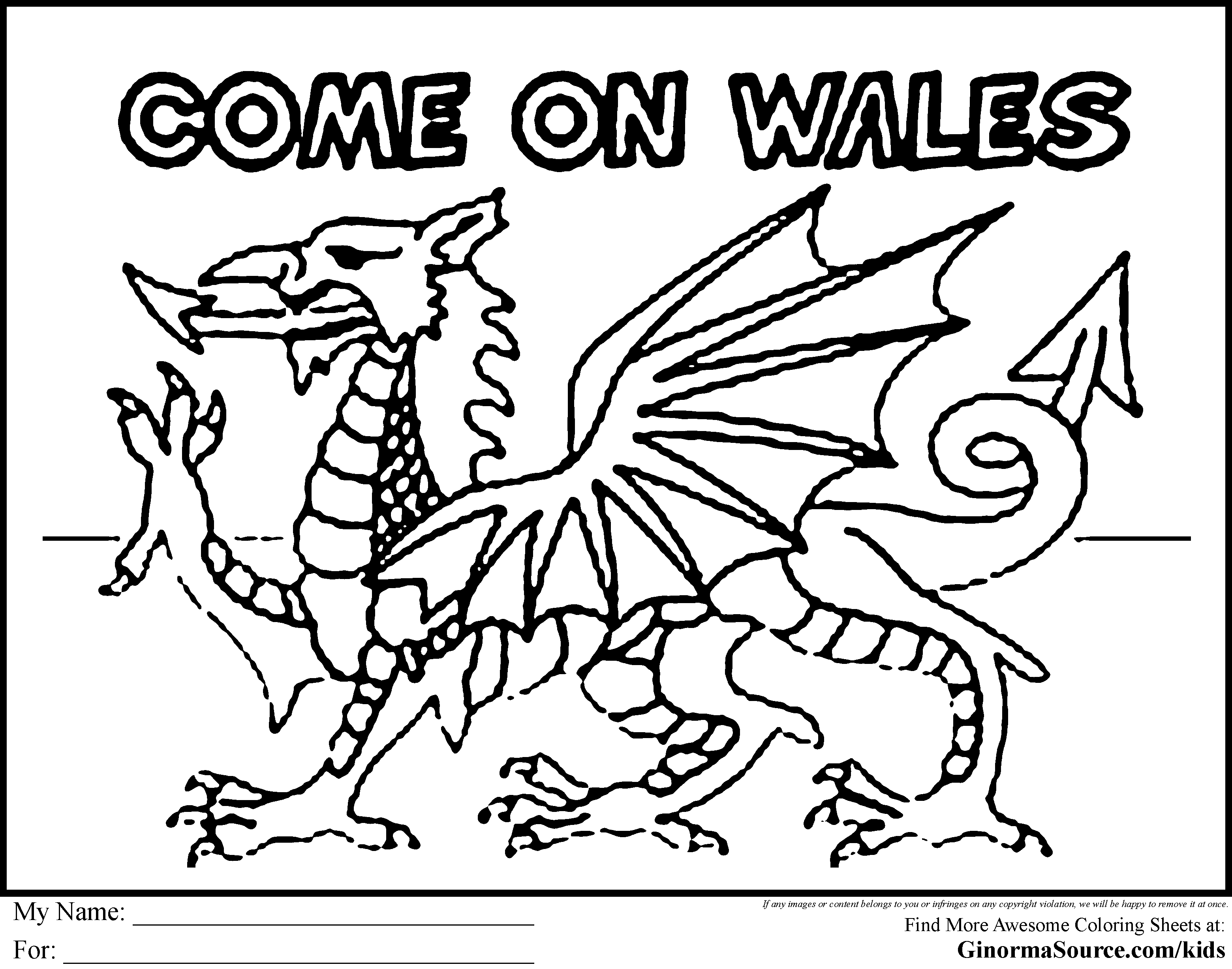 flag of wales to colour welsh flag free colouring pages flag wales of to colour