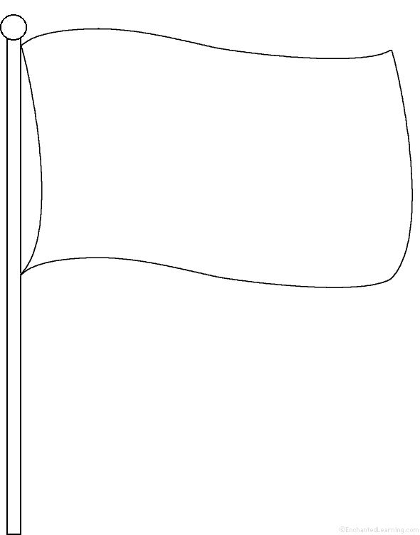 flag templates to colour blank flag template printable sketch coloring page templates flag to colour