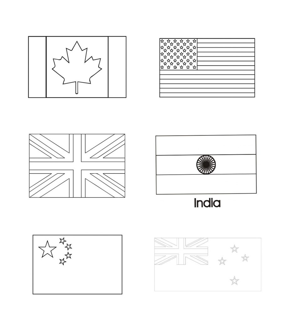 flags of the world colouring blank flag coloring page food ideas world colouring of flags the