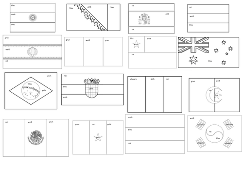 flags of the world printable coloring pages flags of countries coloring pages download and print for free coloring of printable the flags pages world