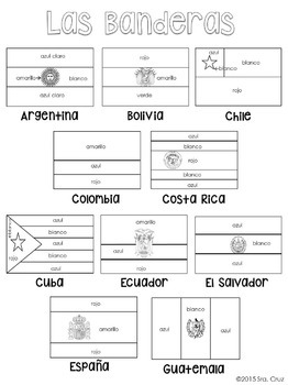 flags of the world printable coloring pages flags of spanish speaking countries coloring sheets by sra coloring of world flags pages the printable