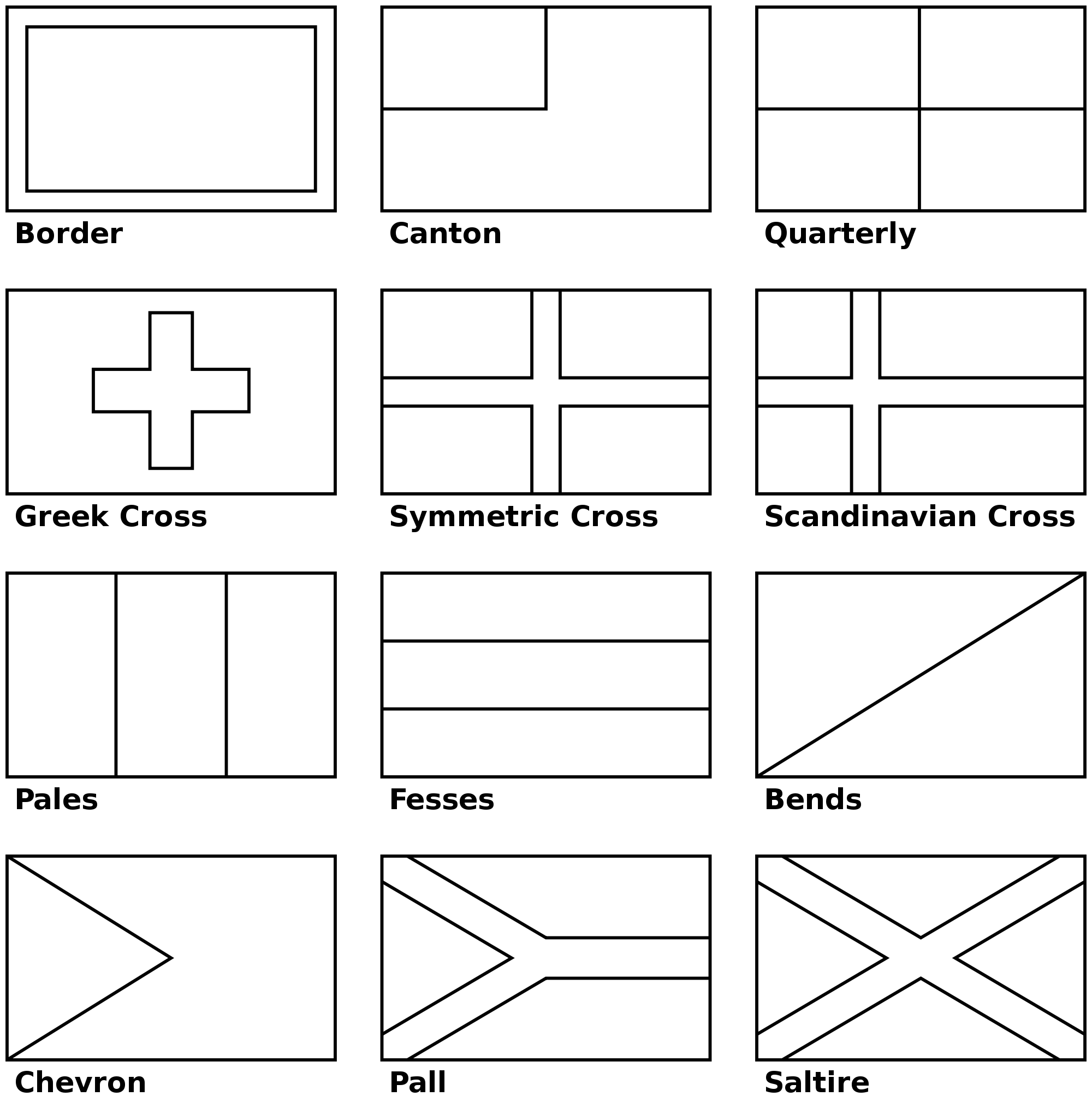 Flags of the world printable coloring pages