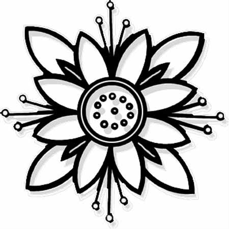 floral coloring pages advanced flower coloring pages at getcoloringscom free floral coloring pages