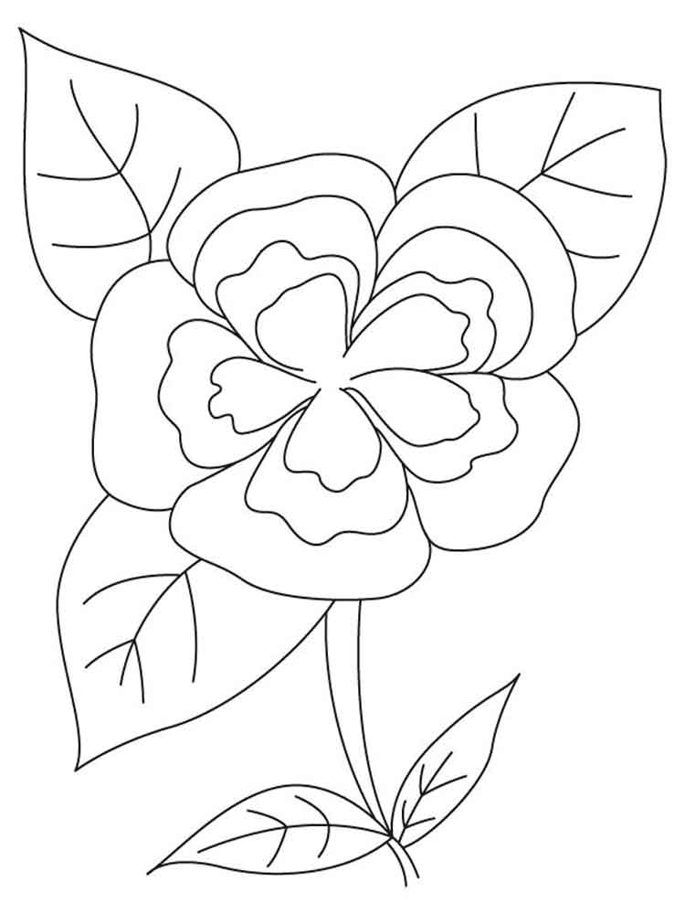 floral coloring pages print four free flower coloring pages pages floral coloring