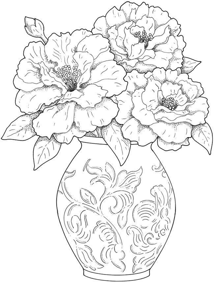 flower coloring pages adults flowers free colouring pages adults pages coloring flower