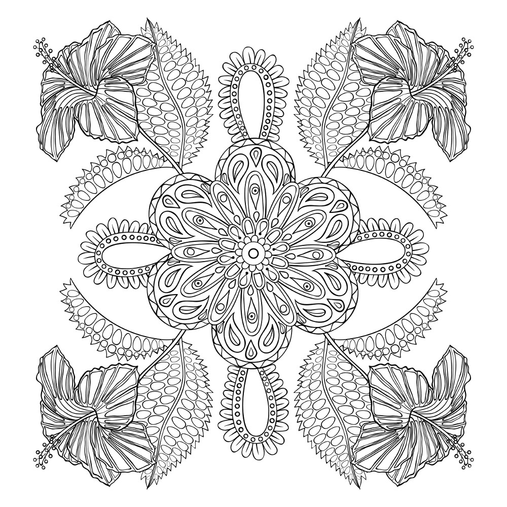 flower coloring pages adults very detailed flowers coloring pages for adults hard to adults coloring pages flower