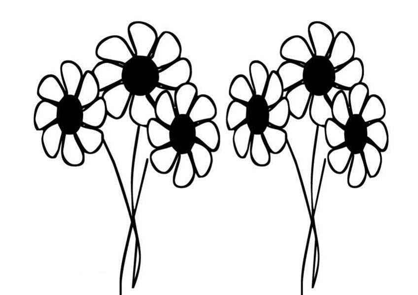 flower doodle coloring pages 10 flower coloring sheets for girls and boys all esl doodle pages coloring flower