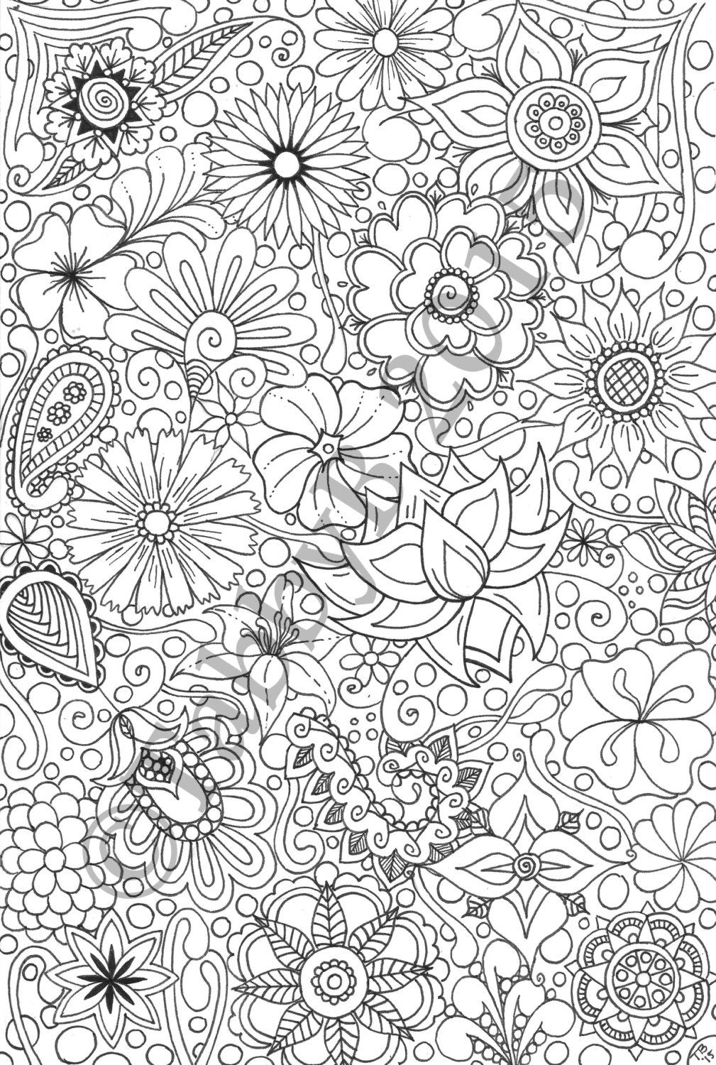 flower doodle coloring pages flower coloring pages flower pages doodle coloring