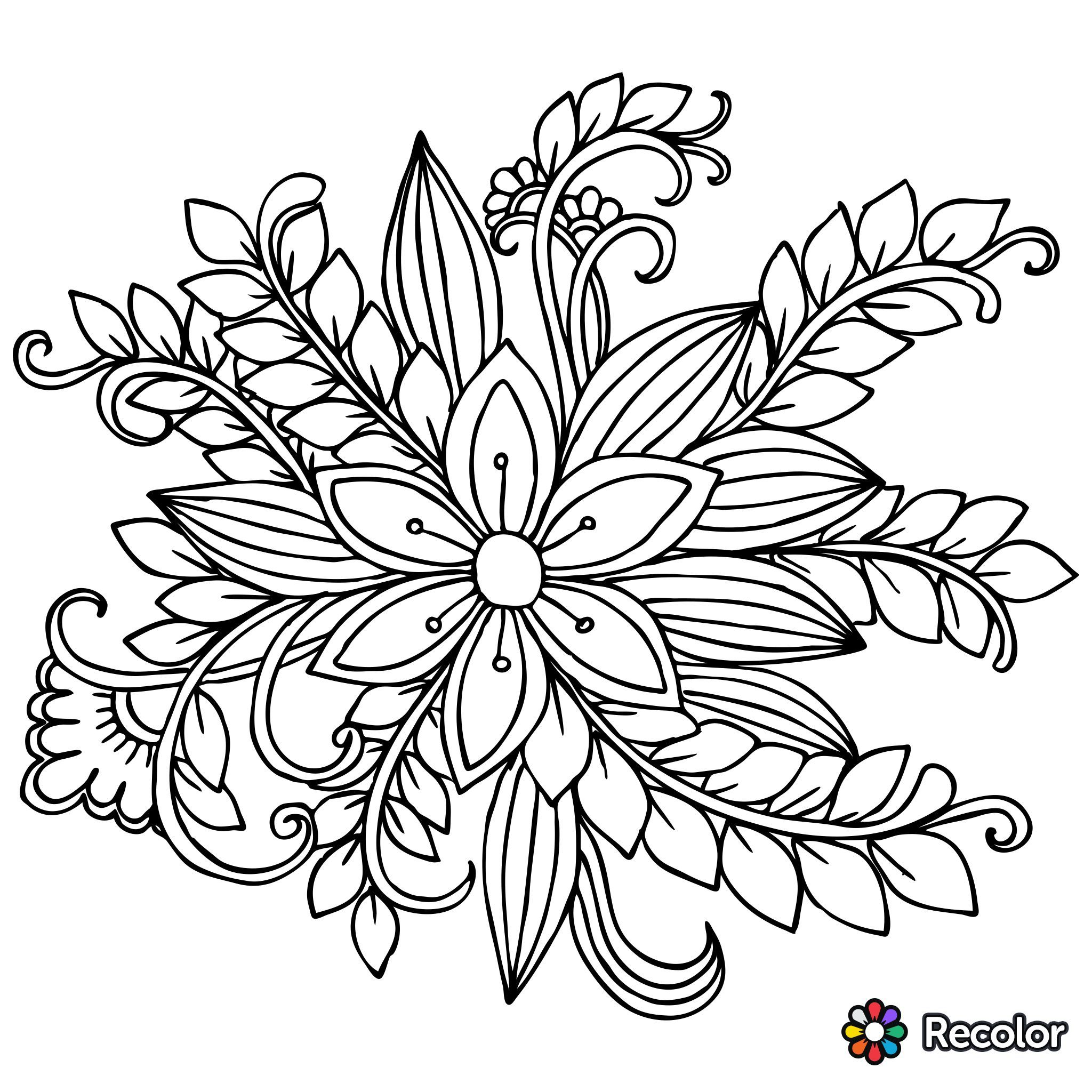 flower doodle coloring pages free printable flower coloring pages 16 pics how to flower pages doodle coloring