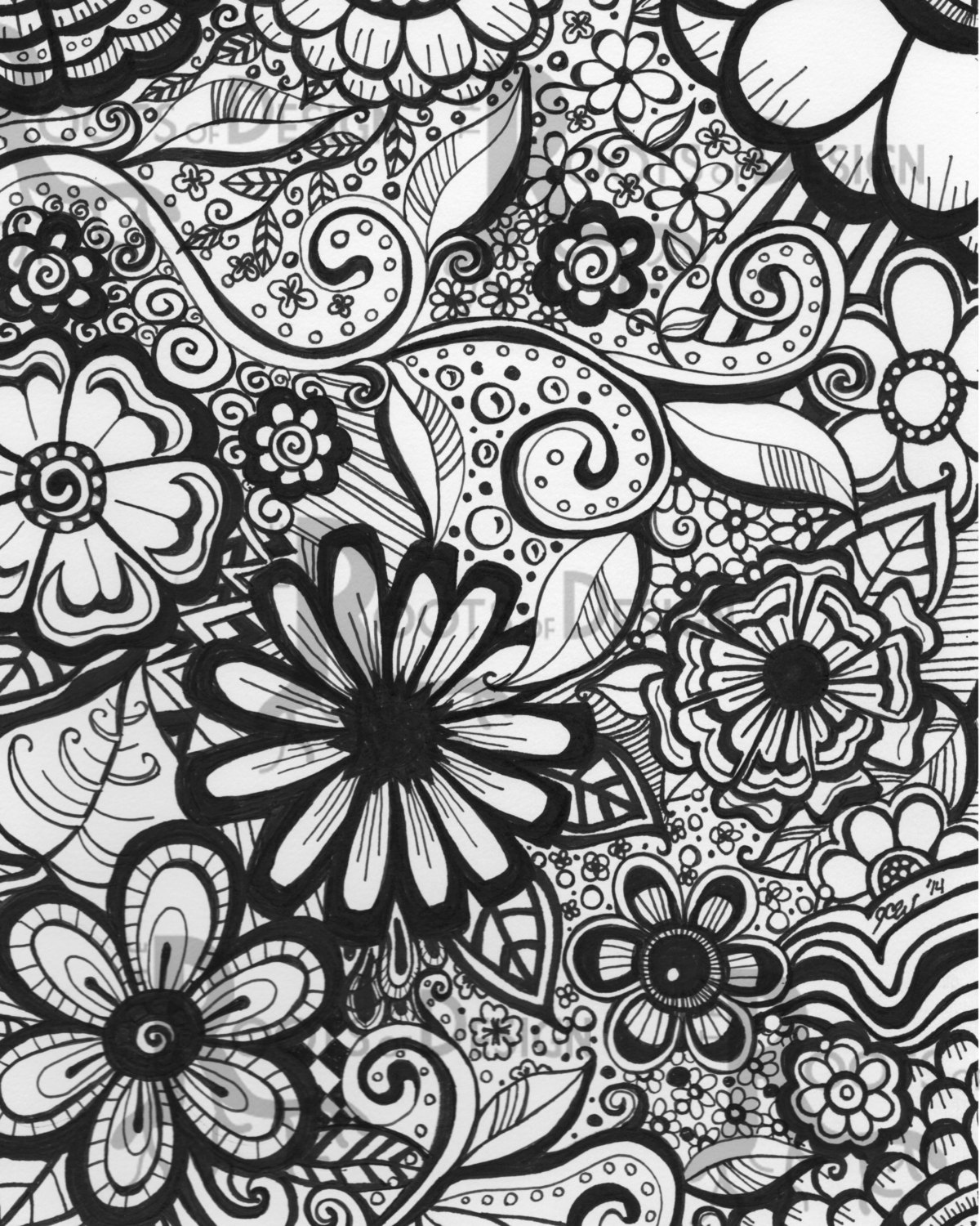 flower doodle coloring pages multipurpose the beautiful lotus flower colouring pages pages coloring doodle flower