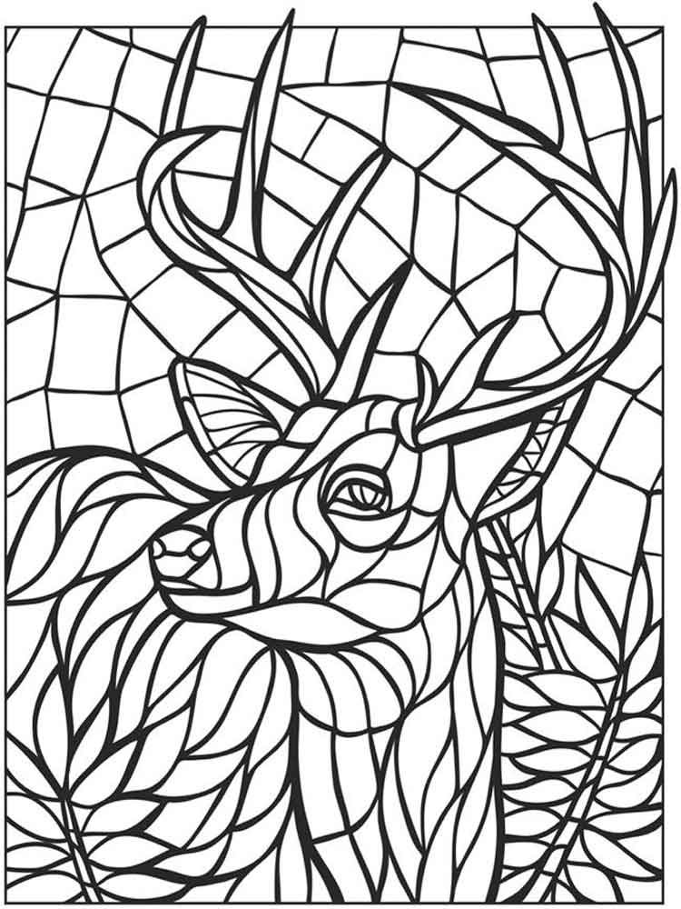 flower mosaic coloring pages beautiful flower mosaic coloring page download print coloring flower pages mosaic