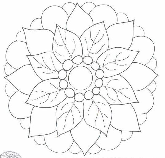 flower mosaic coloring pages mosaic coloring pages free coloring home coloring mosaic pages flower
