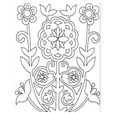 flower mosaic coloring pages mosaic flower and squares pattern free mosaic patterns mosaic flower pages coloring