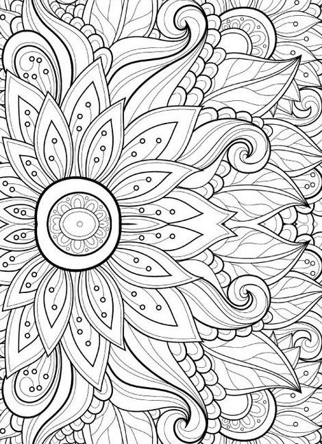 flower mosaic coloring pages mosaic flower pumpkin39s coloring pages pinterest coloring mosaic flower pages