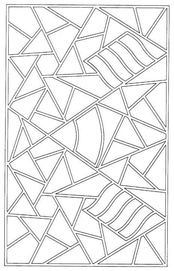 flower mosaic coloring pages mosaic patterns coloring page free coloring pages online mosaic coloring flower pages