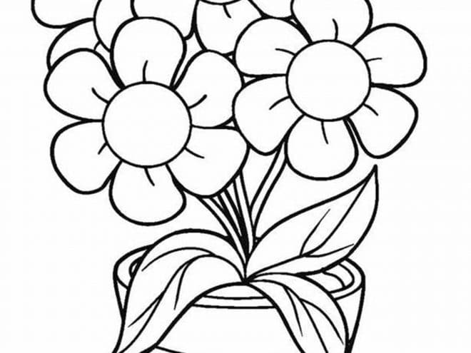 flower pictures coloring pages free printable flower coloring pages for kids best coloring flower pictures pages