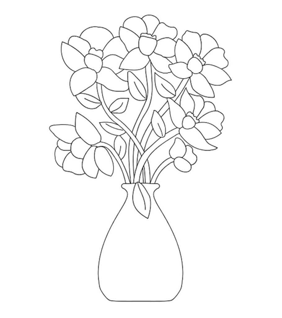 flower pictures coloring pages free printable flower coloring pages for kids best pages pictures coloring flower