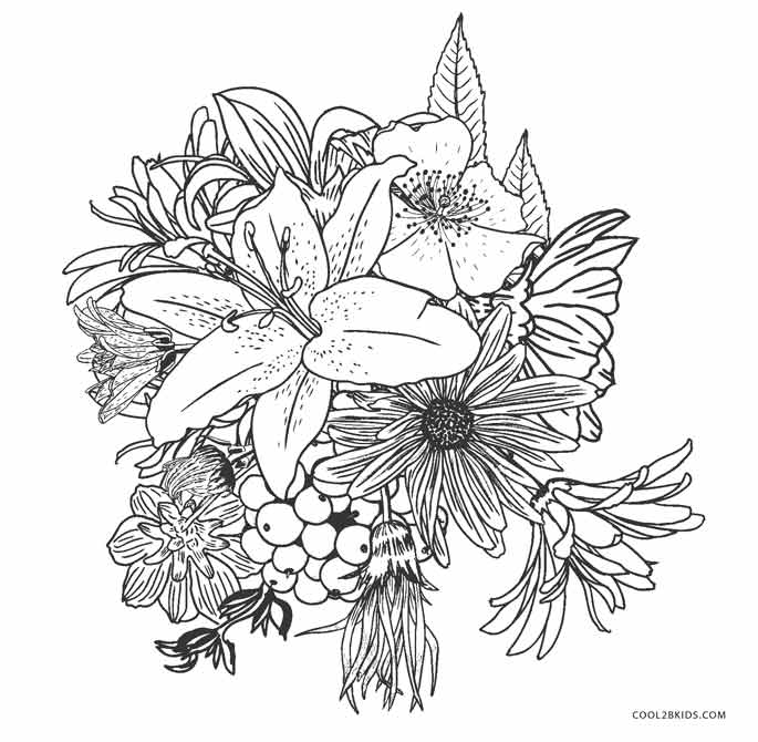 flower pictures coloring pages free printable sunflower coloring pages for kids pages coloring pictures flower