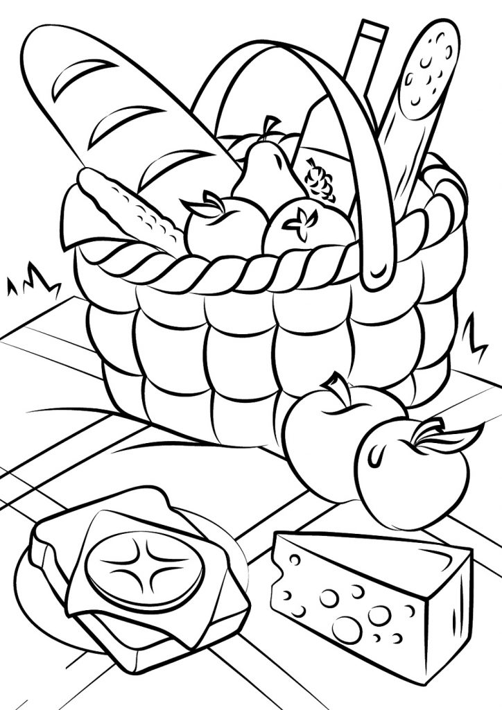 food themed coloring pages colouring in page sample page from 39color cook story pages coloring food themed