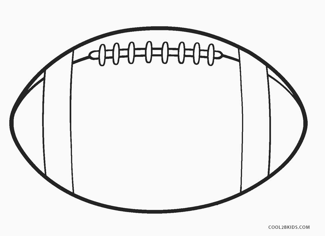 Football coloring pages to print