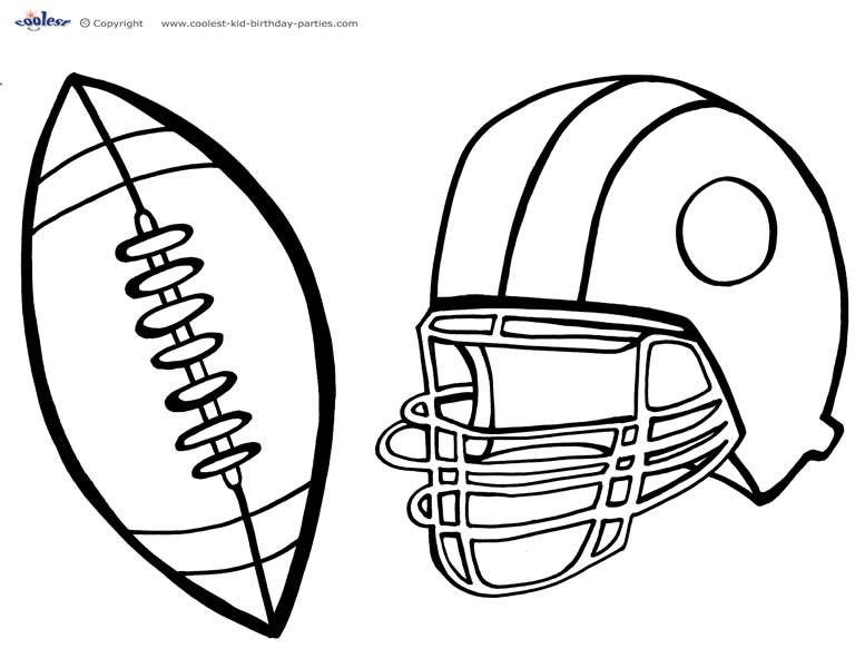 football coloring pages to print coloring pages football coloring pages free and printable print coloring pages football to
