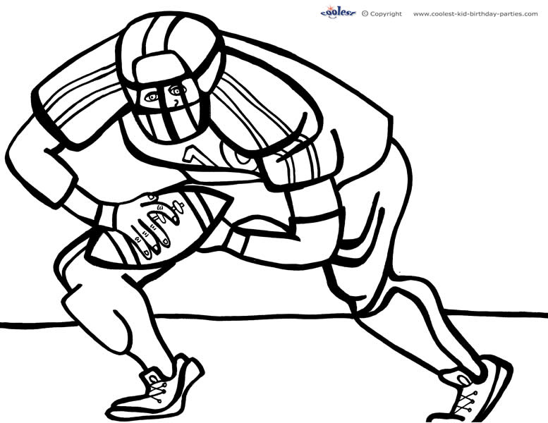 football coloring pages to print football coloring pages for kids print coloring football to pages