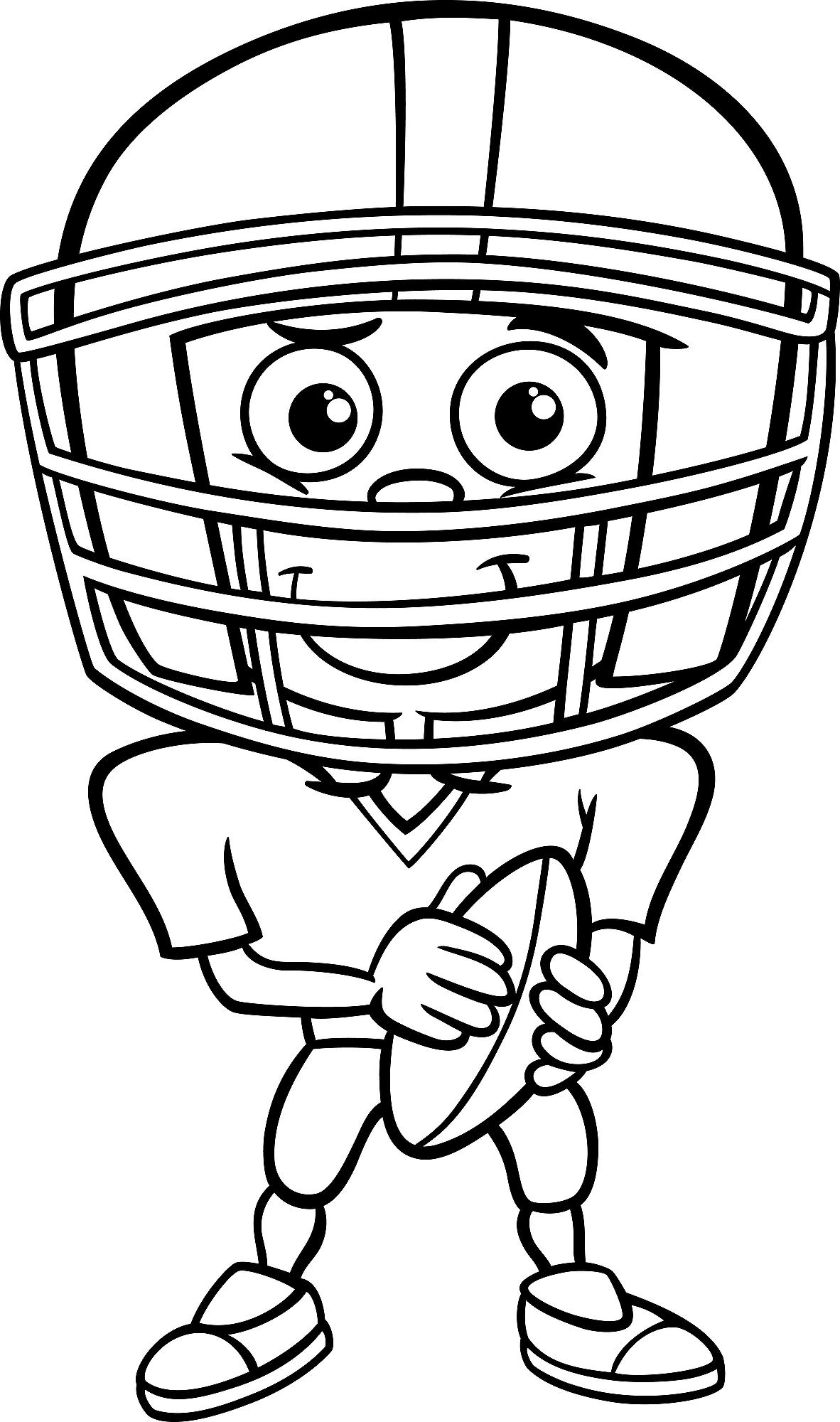 football coloring pages to print football player coloring pages to download and print for free coloring print pages to football