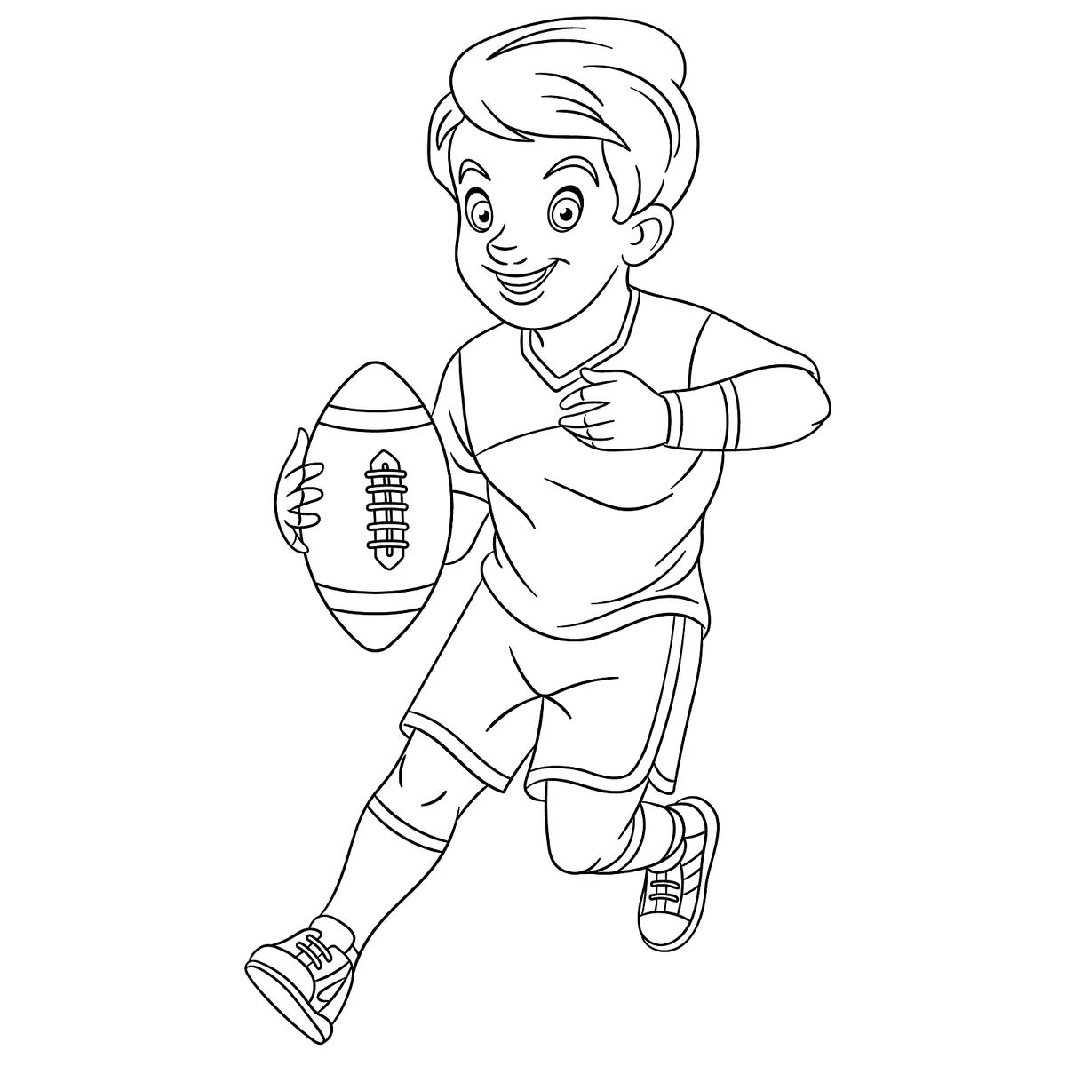 football coloring pages to print printable football coloring page 4 football pages to coloring print