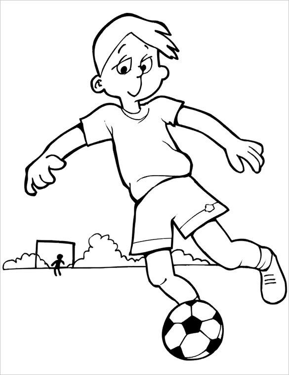 football colouring pages 35 free printable football or soccer coloring pages pages football colouring 1 1