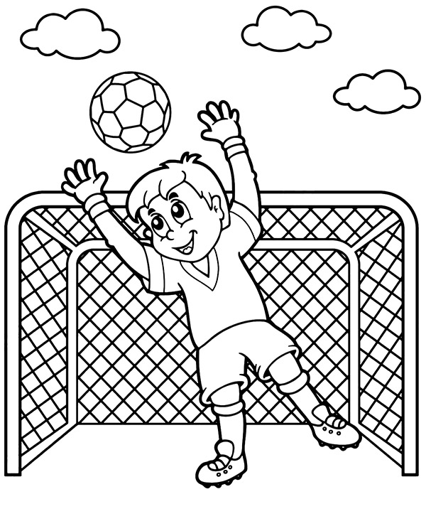 football colouring pages soccer playing football coloring page wecoloringpagecom colouring football pages