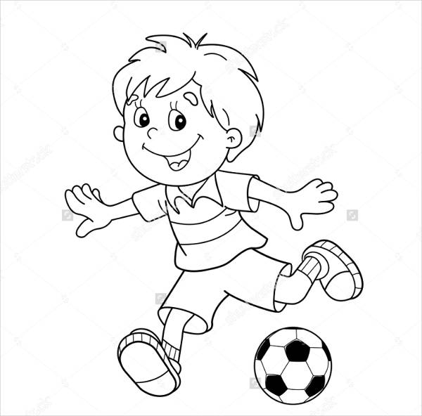 football pictures to color free 9 football coloring pages in ai pictures color football to