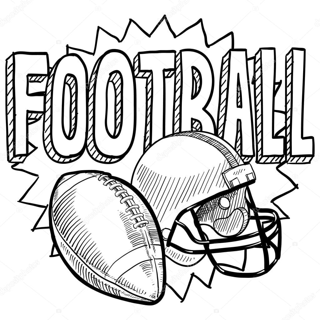 football pictures to color free printable football coloring pages for kids best color to football pictures