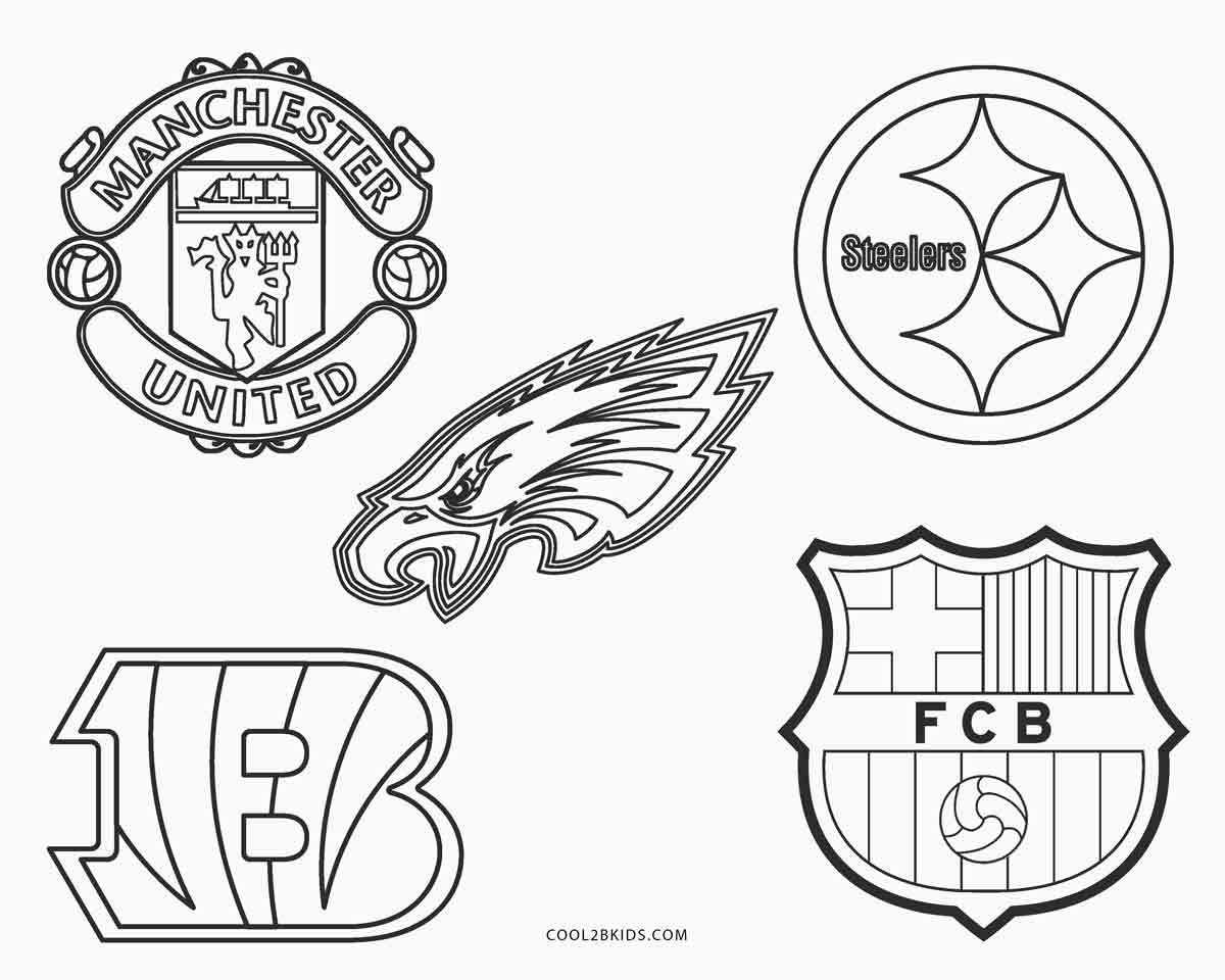 football pictures to color free printable football coloring pages for kids football color to pictures