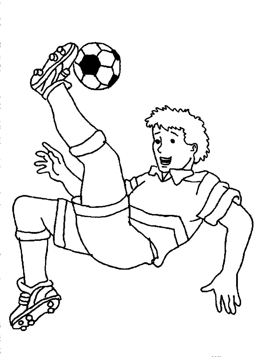 football pictures to color soccer playing football coloring page wecoloringpagecom to football pictures color